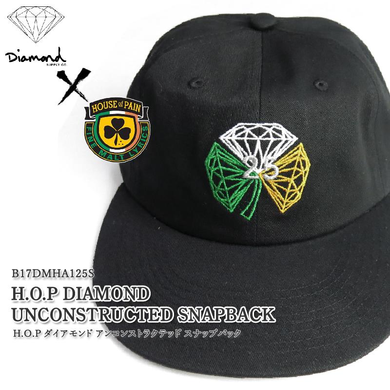 f931f46b70b378 コラボダイアモンドアンコンストラクテッドスナップバックキャップ of the 25th anniversary of diamond supply co  ...