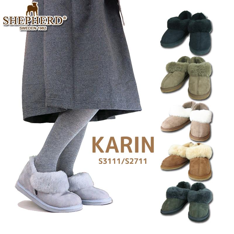 【NEW】SHEPHERD シェパード シェファード S3611 S3111 KARIN ムートン ブーツ ボア レディース