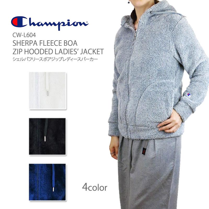 a4f2b61a9bda FIRST LINE  CHAMPION champion CW-L604 SHERPA FLEECE BOA ZIP HOODED ...
