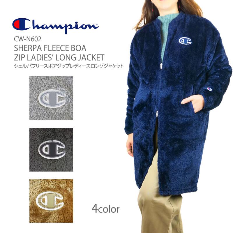 c40670084602 FIRST LINE  Champion CW-N602 champion SHERPA FLEECE BOA ZIP LADIES ...