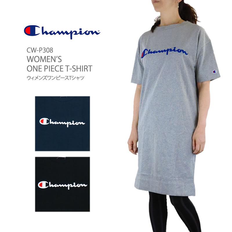 2d0c563495f0 FIRST LINE: CHAMPION champion CW-P308 WOMEN'S ONE PIECE T-SHIRT ...