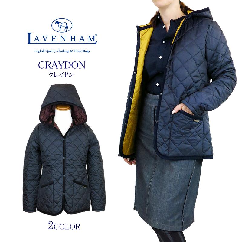 【NEW】LAVENHAM ラベンハム CRAYDON クレイドン キルティング フード ジャケット ラヴェンハム Ladies' Lady's レディース