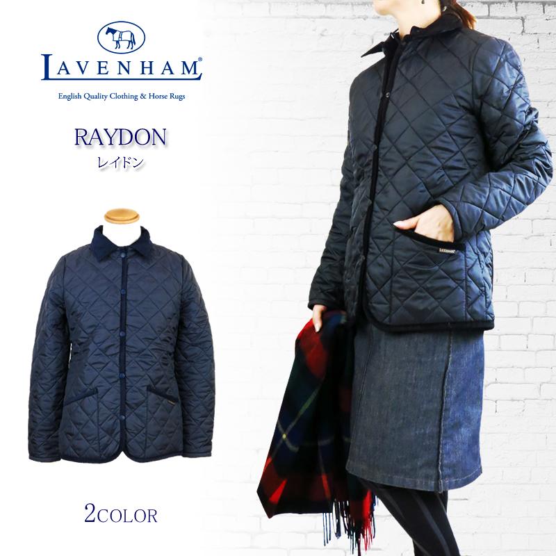 【NEW】LAVENHAM ラベンハム RAYDON レイドン キルティング コーデュロイ襟 ジャケット ラヴェンハム Ladies' Lady's レディース