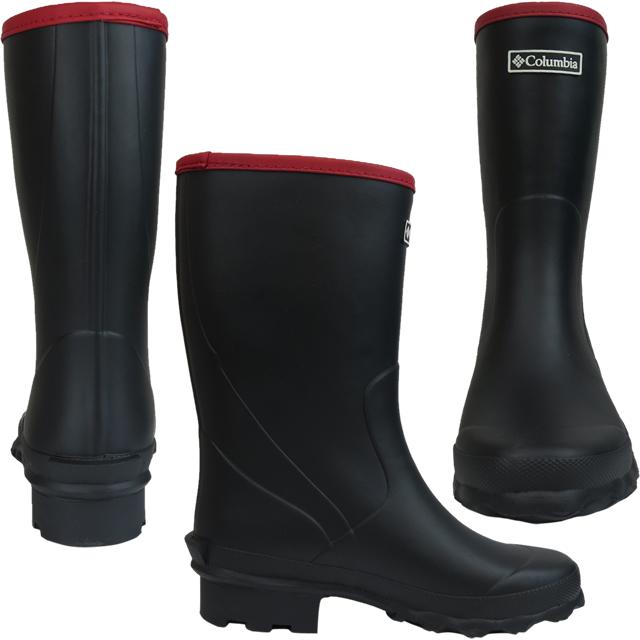 Columbian boots rain boots COLUMBIA YU3814 Ruddy Soft Mid ラディソフトミッド 2 rainwear men gap Dis