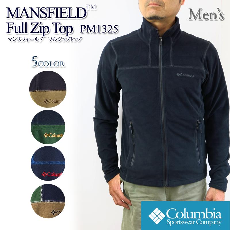 The Columbian fleece jacket COLUMBIA PM1325 MANSFIELD FULL ZIP TOP Mansfield full zip top