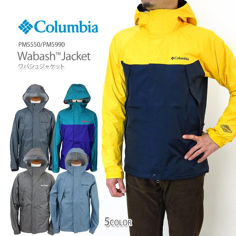 【30%OFF!】コロンビア ジャケット マウンテンパーカー COLUMBIA PM5990/PM5550 WABASH JACKET ワバシュジャケット レインウェア