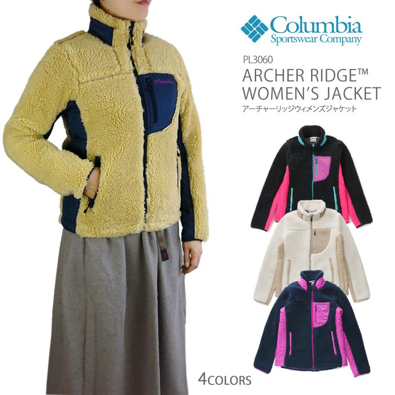 【NEW】コロンビア フリース アーチャーリッジ ジャケット COLUMBIA PL3060 ARCHER RIDGE WOMEN'S JACKET アーチャーリッジジャケット レディース