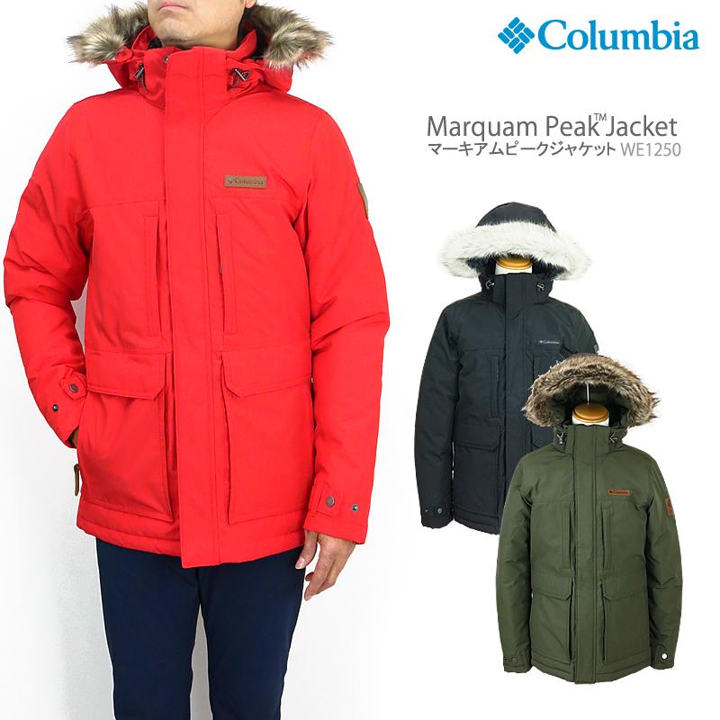 【NEW】コロンビア ジャケット マウンテンパーカー COLUMBIA WE1250 MARQUAM PEAK JACKET マーキアムピークジャケット レインウェア