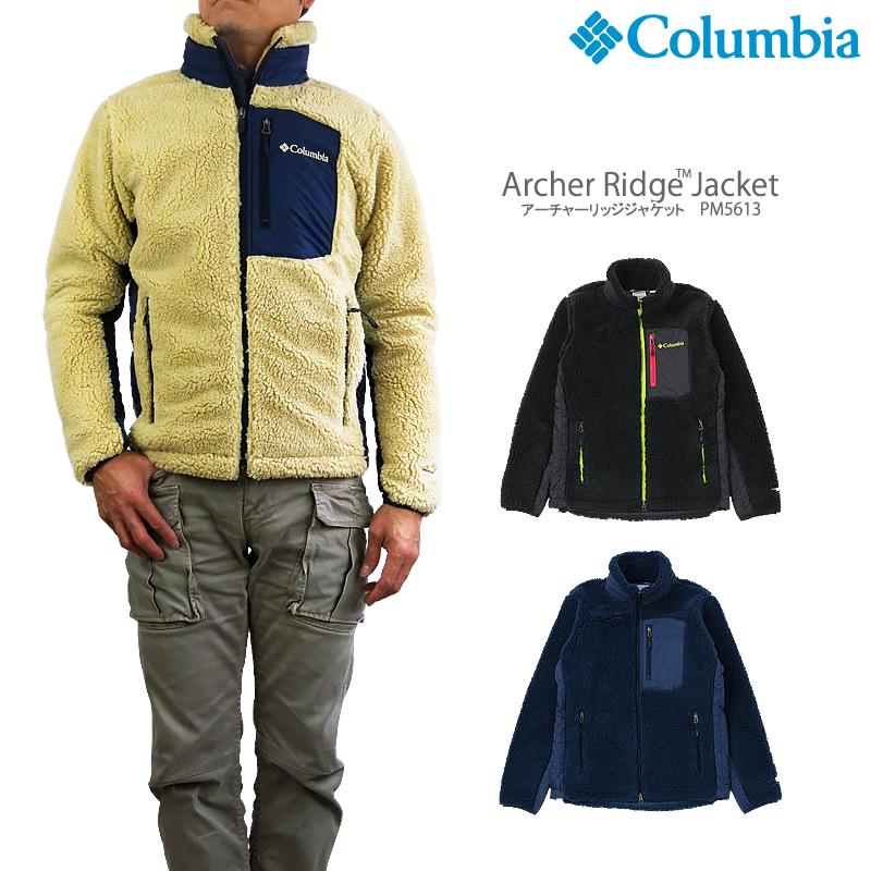 【NEW】コロンビア フリース ジャケット COLUMBIA PM5613 ARCHER RIDGE JACKET アーチャーリッジ ジャケット
