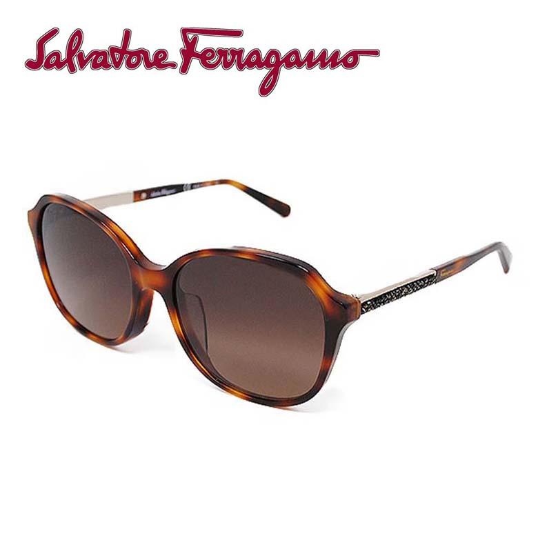 サルバトーレフェラガモ Salvatore Ferragamo サングラス レディース [SF908SRA-214]