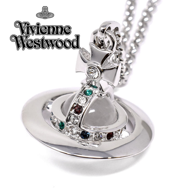ヴィヴィアンウェストウッド Vivienne Westwood ネックレス NEW TINY ORB PENDANT [63020097-W004-CN]