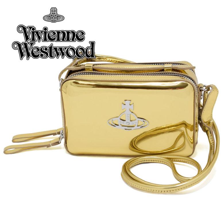 ヴィヴィアンウェストウッド Vivienne Westwood 2WAY ショルダーバッグ [44020074-01029-R401/GOLD]
