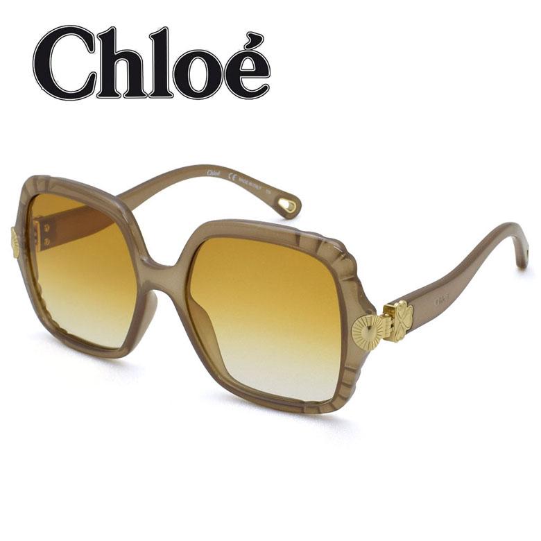 クロエ CHLOE サングラス UVカット グローバルモデル レディース [CE746S-248]