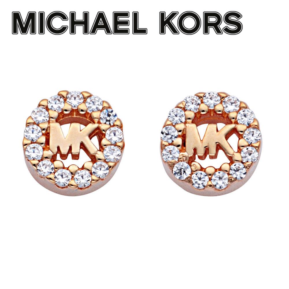 マイケルコース MICHAEL KORS MKC1033AN791 MKロゴ パヴェ スタッド ピアス