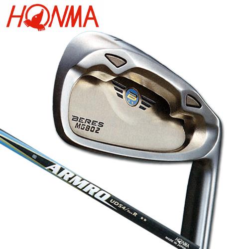本间高尔夫球真的贝莱斯MG-802单物品铁杆(#3/R)ARMRQ UD54 2S★★碳轴