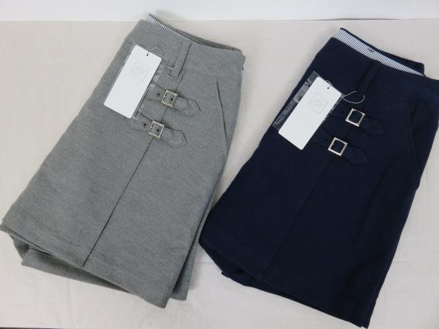 【ゾイ】【ZOY】レデース キュロットスカート 38303 04:グレー 85:ネイビー 36/38サイズ