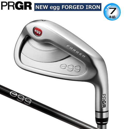 プロギア NEW egg FORGED アイアン 7本組(#7-P.A.AS.S) NEW egg 専用 カーボンシャフト [PRGR NEW egg FORGED IRONS NEW egg CARBON SHAFT]