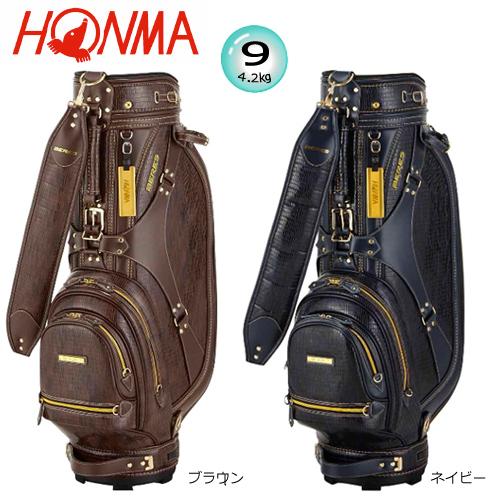 本間ゴルフ(ホンマ) 9型(4.6kg) CB-1814 ベレス クラシカル キャディバッグ [HONMA BERES CLASSICAL CADDIE BAG]