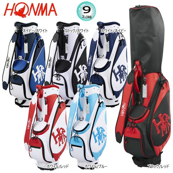 本間ゴルフ(ホンマ) 9型(3.0kg) ダンシング ホンマ カジュアル モデル キャディバッグ CB-1910 [HONMA Dancing HONMA CASUAL MODEL CADDIE BAG]