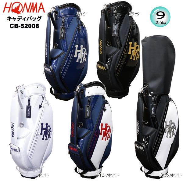 2021年モデル 定番から日本未入荷 本間ゴルフ ホンマ 9型 激安通販 軽量 2.9kg '21 BAG HONMA ダンシングHONMAロゴ CB-52008 キャディバッグ Dancing CART