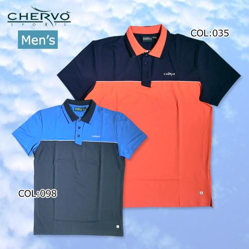 【シェルボ】【CHERVO】031-25145 メンズ 半袖シャツ