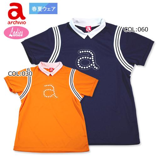 【アルチビオ】【archivio】 A759417 レディース 半袖ハイネックシャツ