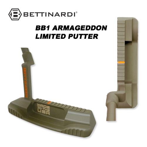 ベティナルディ BB1 アルマゲドン リミテッド パター RJB8761[BETTINARDI BB1 ARMAGEDDON LIMITED PUTTER] USモデル