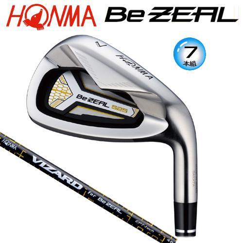 本間ゴルフ(ホンマ)ビジール 525 アイアン7本組 (#5-#10.#11)ビジール専用 ヴィザード カーボンシャフト[HONMA Be ZEAL 525VIZARD for Be ZEAL SHAFT]