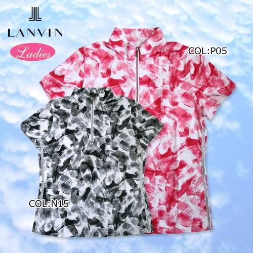 【LANVIN】ランバン VLJ155223 レディース 半袖シャツ