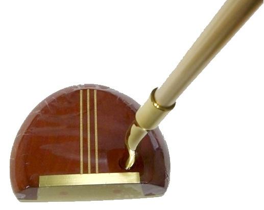 本間ゴルフ(ホンマ) Persimmon(パーシモン)パターSPECIAL HAND MADE ハンドメイドアーマックシャフト  柿の木使用 日本仕様 34インチ