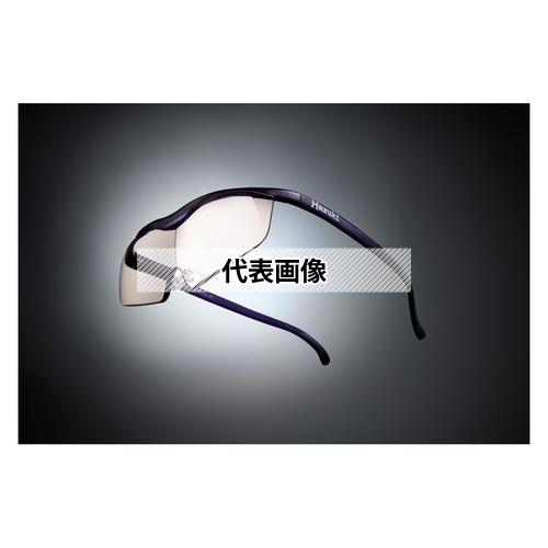 HAZUKI COMPANY Hazuki メガネ型拡大鏡 ハズキルーペ ラージ カラーレンズ 1.85倍 紫