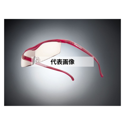 HAZUKI COMPANY Hazuki メガネ型拡大鏡 ハズキルーペ コンパクト カラーレンズ 1.85倍 ルビー