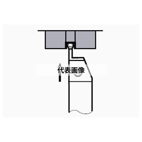 タンガロイ 外径用TACバイト CGWSR/L-W CGWSR1616-W30