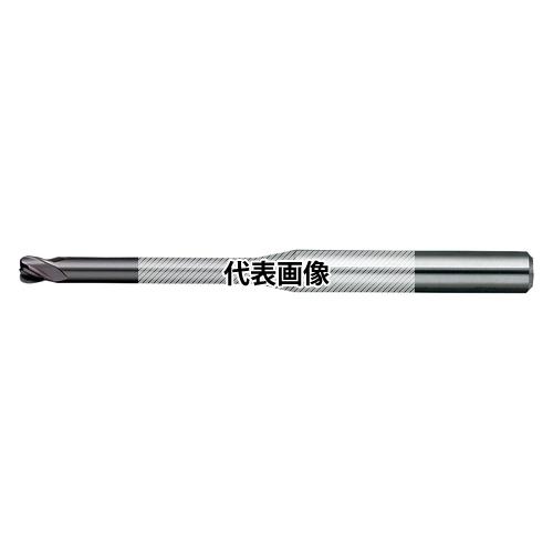 日進工具 無限コーティングプレミアム 高硬度用4枚刃ロングネックラジアスエンドミル MHRH430R D5XR1X40