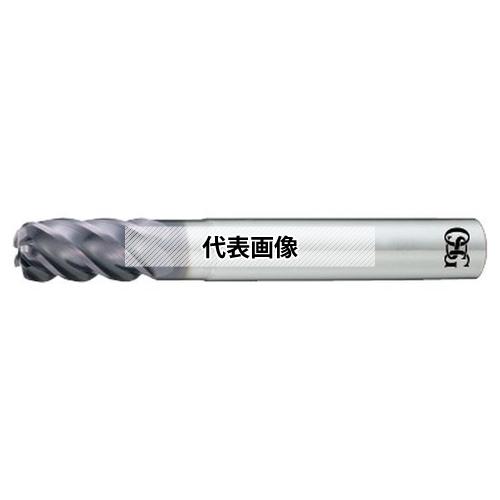 オーエスジー FXコーティング 超硬不等リードエンドミル 5刃 チタン合金加工用 UVX-TI-5FL UVX-TI-5FL 12X36 (8555320)