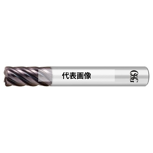 オーエスジー FXコーティング 不等リード 超硬ラジアスエンドミル 多刃 NEO-CR-EMS NEO-CR-EMS 25XR4 (8519806)
