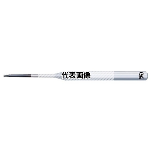 オーエスジー WXスーパーコート 超硬ラジアスエンドミル 高精度ブルノーズ WXS-CPR WXS-CPR 3XR0.5X1°X50 (3103030)