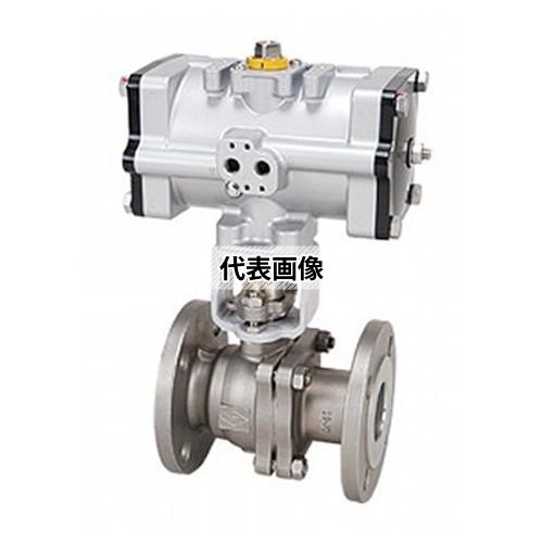 海外並行輸入正規品 空気圧自動 ボール(FDA10-UBF) 50A:ファーストTOOL FDA10-UBF 東洋バルヴ-木材・建築資材・設備
