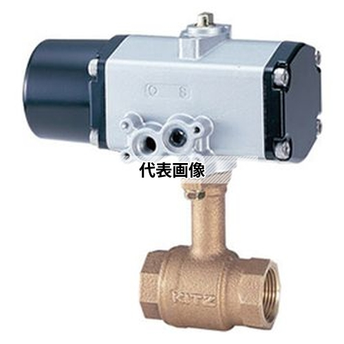 【本日特価】 青銅製ロングネックボール(FBS-TLE) 50A:ファーストTOOL 小型空圧 《CS型/スプリングリターン》 キッツ FBS-TLE-木材・建築資材・設備