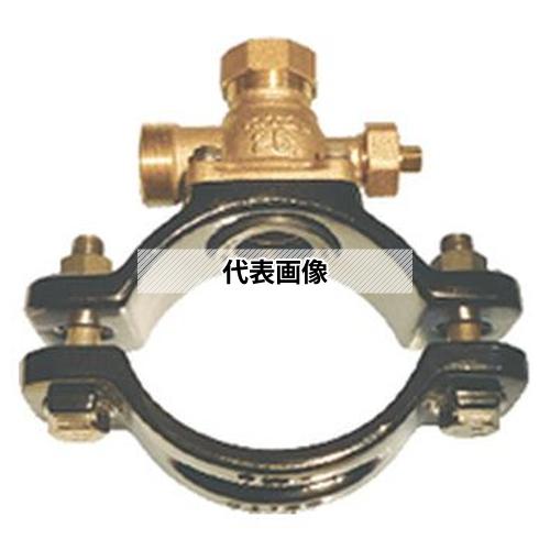 魅力的な価格 ダクタイル鋳鉄管(DIP)(WXFC300X) サドル付分水栓 WXFC 300AX25A:ファーストTOOL キッツ-木材・建築資材・設備