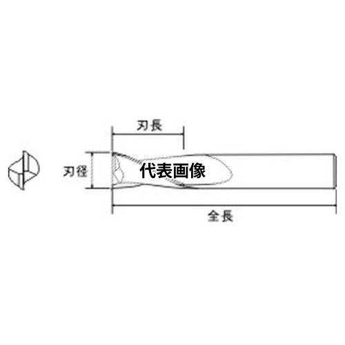 東洋アソシエイツ Mr.Meister 小型工作機械用エンドミル (32135) エンドミル 13.5mm(2枚刃)