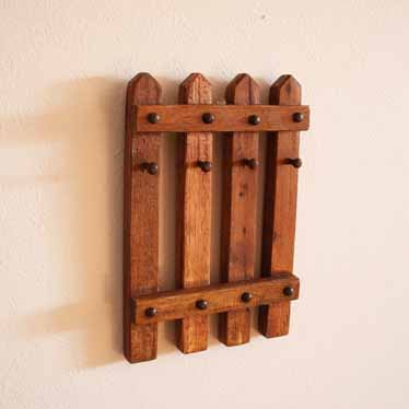 rack farmhouse old antique huge key hotel box