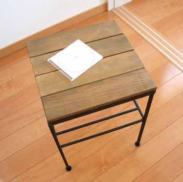 fiscu  라쿠텐 일본: 02P05Nov16 목재 철 침대 사이드 테이블 콘솔 ...