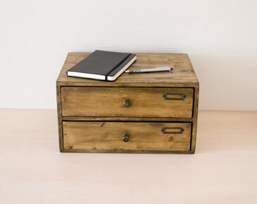 ... Mini Chest With Small Drawer Desk Drawer Storage Desk Storage Wristlet  Tabletop Wood Storage Box A4 ...