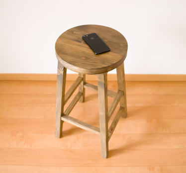 Fabulous Wood Country Antique North Europe Cafe Retro Finished Product Shin Pull Heiss Tool Made Of Heiss Tool 60Cm In Height Stool Barstool Kitchen Stool Bralicious Painted Fabric Chair Ideas Braliciousco