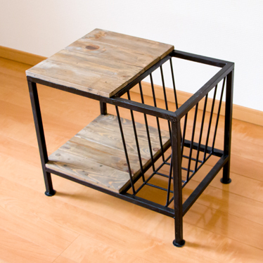 Side Table With The Magazine Rack Side Table Bedside Table Bed Table Stool Sofa Table Cocktail Table Magazine Rack Newspaper Rack Wooden Storing Ai