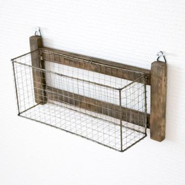 Unique fiscu | Rakuten Global Market: Wire basket rack wall hangings  ZR41
