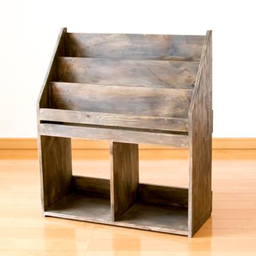 Fiscu Rakuten Global Market Magazine Stand Book Shelf Magazine - Coffee table with book storage