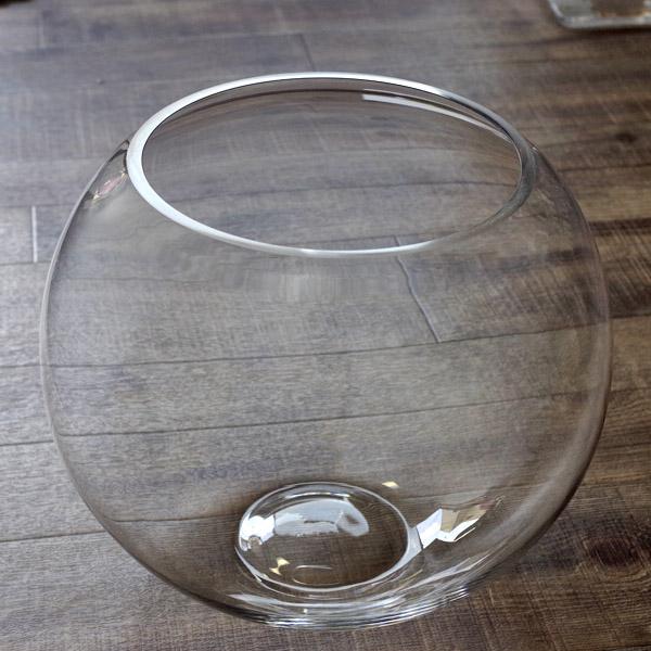 (インテリア・雑貨)ラージボール LL (828-30)サボテン 多肉植物【雑貨 ガラス容器 保存容器 テラリウム ボトリウム】