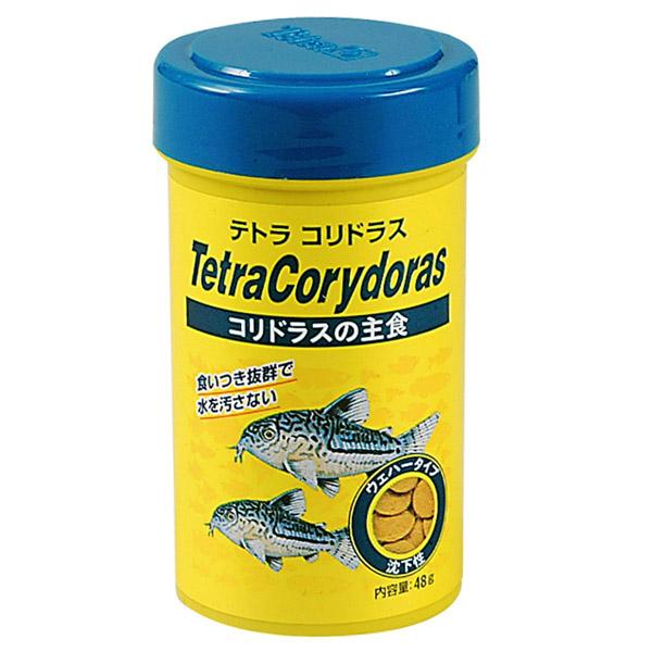 豊富な400種以上 5万匹以上の生体が揃っています テトラ コリドラス 48g 餌 えさ エサ 観賞魚 餌やり ギフ_包装 飼育 販売 熱帯魚 ネオス 通販 あくありうむ アクアリウム 水槽 生体 当店は最高な サービスを提供します